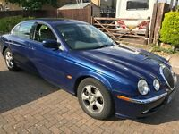 Jaguar S-Type V6 SE 2967cc Petrol Automatic 4 door saloon V Reg 21/01/2000 Blue