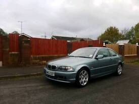 2002 BMW E46 320ci Coupe 2.2 petrol audi mercedes honda hyundai
