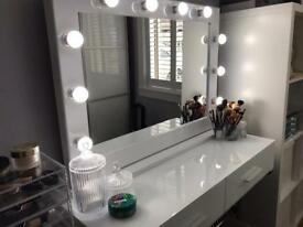 Hollywood Vanity Make Up Mirrors - Cheapest In UK