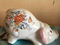 Pig money box