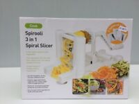 Spirooli 3 in 1 spiral slicer used only once very good condition