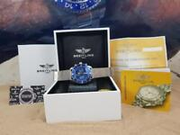 Complete Set Blue/silver breitling superocean comes breitling boxed with Paperwork