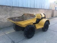 Benford 1ton dumper, VERY RARE 4x4, handle start, manual tip