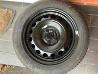 BARGAIN. BRAND NEW TYRE 205/55/ 16 with new steel wheel