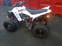 2015 YAMAHA RAPTOR 350 QUAD BIKE ATV ONLY 1450 MILES