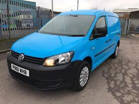 2011 61 Volkswagen Caddy Maxi 1.6 TDI 102 Blue Van LWB AIR CON NO VAT