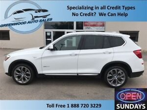 2015 BMW X3 DIESEL! BEAUTIFUL UNT! FINANCE NOW!