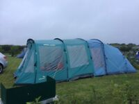 4 Berth Tent and Awning