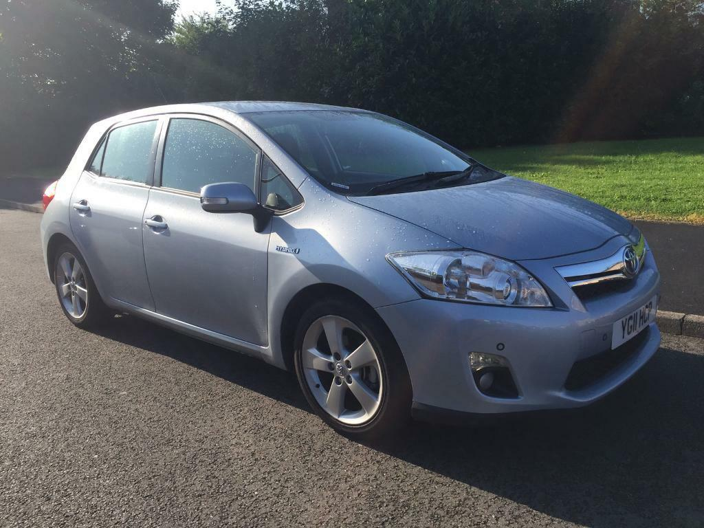 2011 11 reg TOYOTA AURIS Hybrid Electric 1.8 T4 VERY LOW MILEAGE FULL  HISTORY
