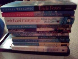 11 Michael Morpurgo Books For Sale VGC