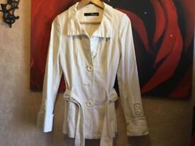 Jane Norman ladies jacket size 8 white used £10