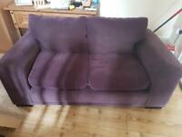 *FREE L22* Chocolate 2 seater couch *FREE L22*