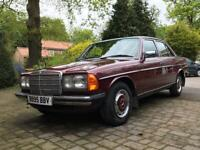 Mercedes 1985 W123 230e 82k for sale  York, North Yorkshire
