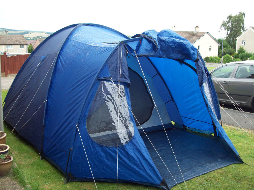 vango venture 500 5 man dome tent 1 or 2 bedroom good used condition