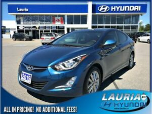 2015 Hyundai Elantra GL Sport Appearance - Sunroof / Low kms