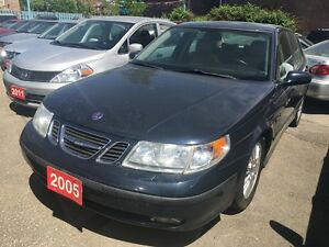 2005 Saab 9-5 Arc Low KM 163K Leather Sunroof Alloys LOADED
