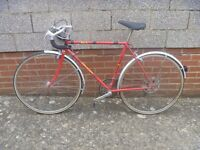 Vintage Raleigh Touring Bike 27 inch
