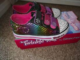 Sketchers twinkle toes size 10 1/2