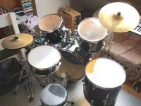 Spur 5 piece Drum Kit