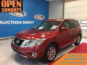 2014 Nissan Pathfinder SL V6! AWD! LEATHER! 3 ROW SEATING! FINAN