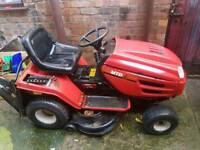 MTD E/165 SIT AND RIDE MOWER