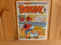 For sale. 338 vintage Beano and Dandy comics some with their original 'toys'.