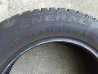 Snow tires in excellent condition