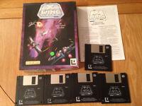 Star Wars X Wing IBM PC 3.5 Floppy Disk Big Box 1992 by Lucas Arts- Didsbury area