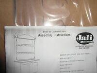 Jali ready to build shelf rack