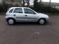 2003 Vauxhall corsa 1.2 petrol 5 door hatchback silver