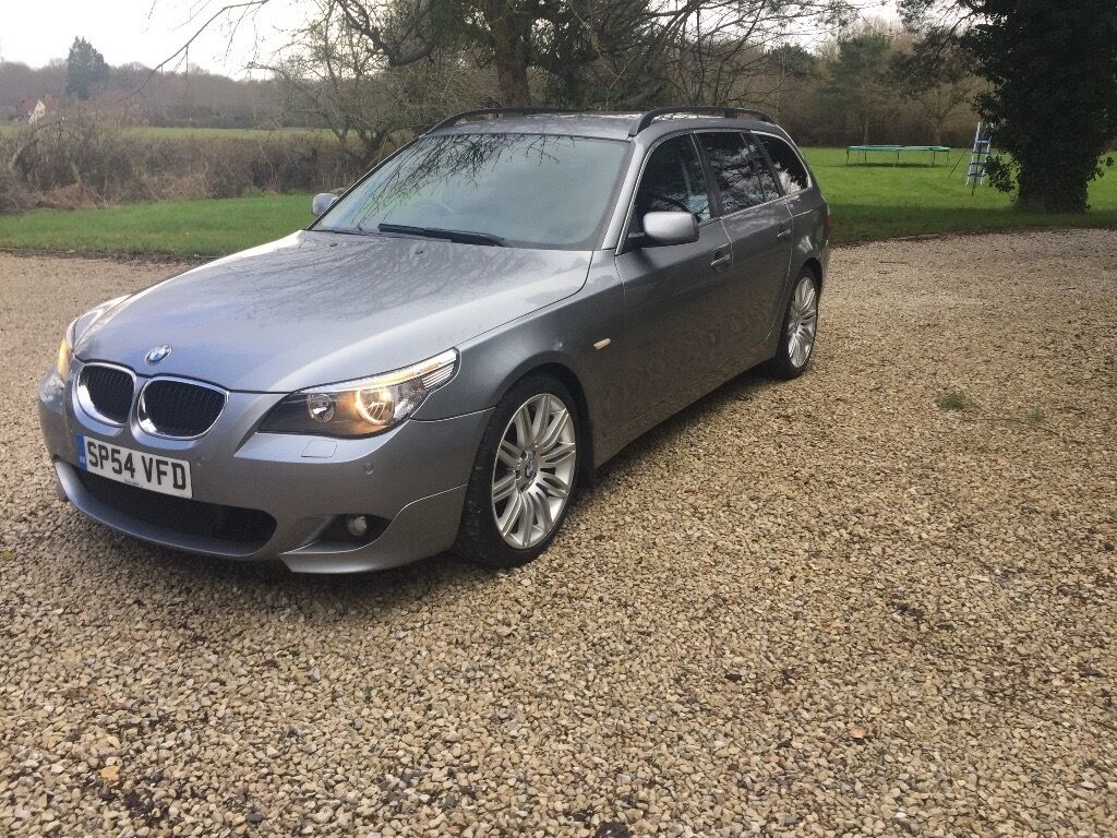 bmw 5 series e60 e61 525d se touring m sport kit 530d 2004 in petworth west sussex gumtree. Black Bedroom Furniture Sets. Home Design Ideas
