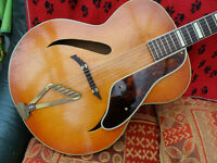 gretsch synchromatic archtop acoustic, c1940s px poss