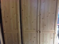 Pine Effect Wardrobes For Sale