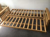 Futon sofa double bed 3 seater