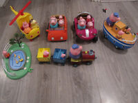 PEPPA PIG BUNDLE ( TOYS AND PUZZLES)