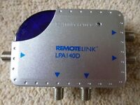 Antiference 4 Way Remote Link Amplifier IR FM TV (LPA140D)