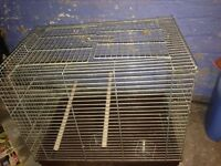 2 Cages for birds or parrots etc