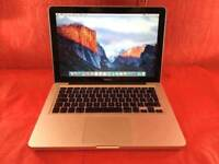 Macbook pro 13inch A1278 2.4GHZ Intel core 2 duo 4GB ram 320GB 2008+ WARRANTY, NO OFFERS