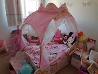 Disney princess toddler carriage bed