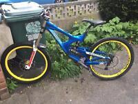 Intense m9 downhill bike dh