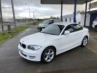 BMW 1 SERIES 2.0 118D SPORT 2d 141 BHP (white) 2009