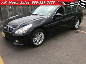 2013 Infiniti G37 X, NAV, Heated Seats, Power Sunroof