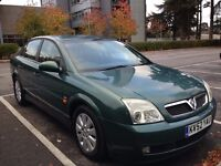 Vauxhall Vectra 1.8 Saloon Petrol Low Mileage and Full Service History