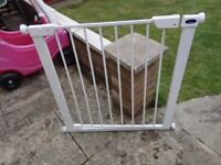 no 7 babystart stair gate with fittings