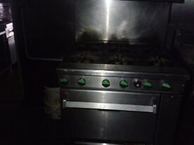 takeaway gas cooker for sale due.to shop closing