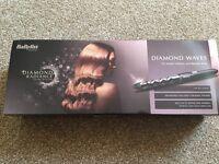 Babyliss diamond waves hair wand