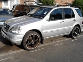 MERCEDES ML 320 PETROL AUTOMATIC * SPARES**ALL PARTS AVAILABLE BREAKING CALL FOR PARTS 07939 934811