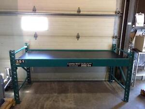 Établie de travail style racking --- Racking style work bench