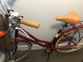 Pendleton Somerby Hybrid Bike Red