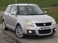 SUZUKI SWIFT 1.6 SPORT 3d 124 BHP 6 Months RAC Parst & Labour Warranty Years MOT